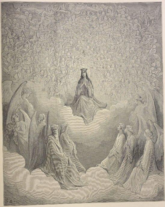 Dante'sBeatriceenthroned